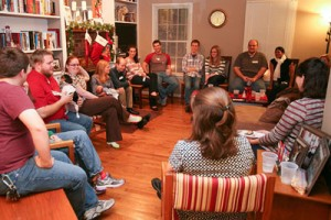 Young Adults gathering