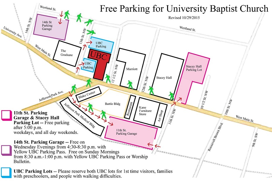 how to get free parking at ubc
